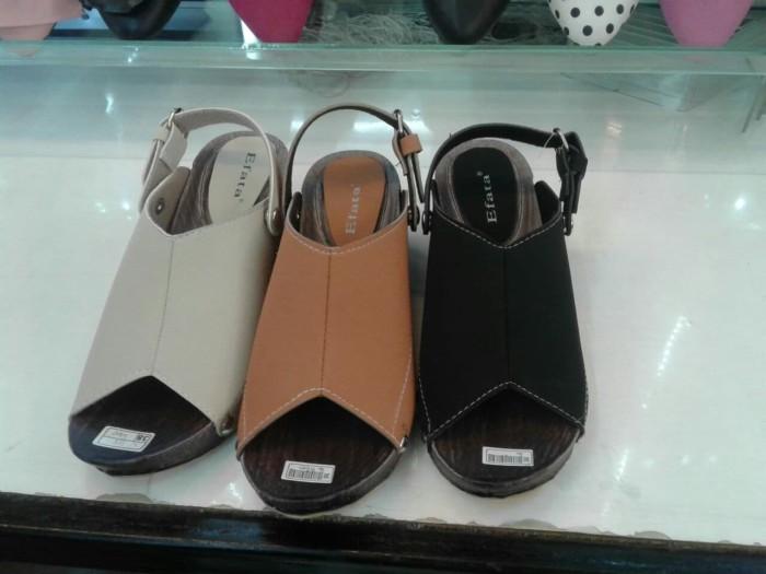 Herma shop - Wedges Sandal Slop EF02 - Beige, 36