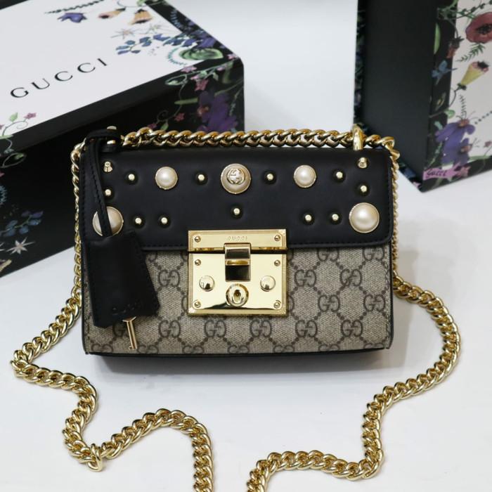 e6ffcfcd05c Jual Gucci padlock pearl 20 x 13 x 9 - Baiqbaglover
