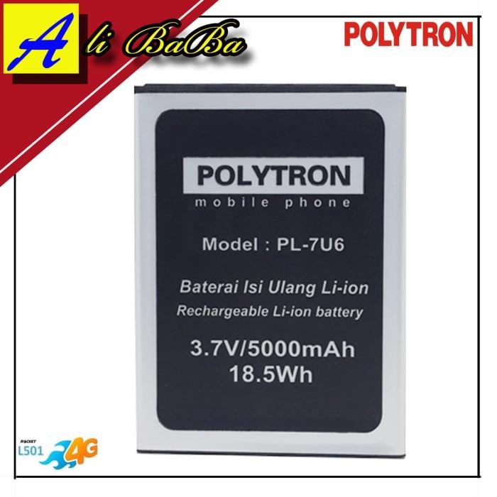harga Baterai handphone polytron rocket c1 4g lte l501 pl-7u6 double power Tokopedia.com
