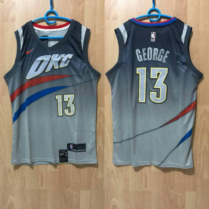 f64f577fac5 Jual JERSEY BASKET PAUL GEORGE - JERSEY SWINGMAN PAUL GEORGE OKC ABU ...