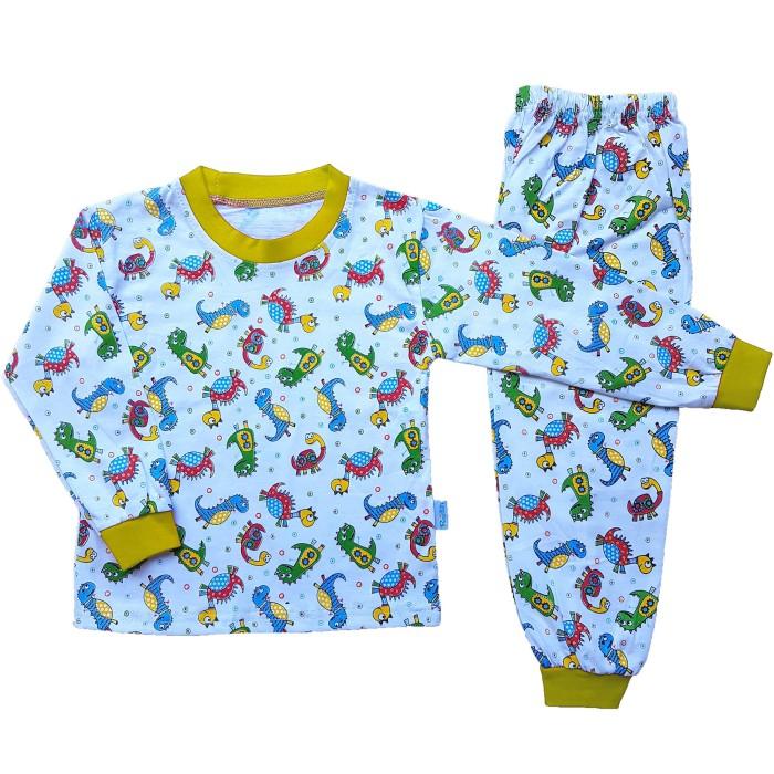 Setelan Baju Tidur Piyama Anak Laki -laki Lengan Panjang PA12-003