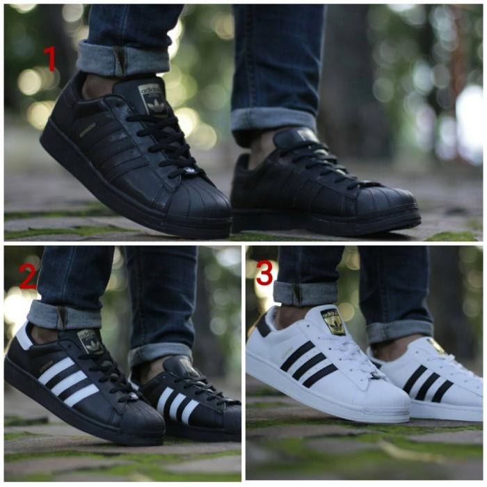 harga Adidas Superstar Premium Original / Sepatu Casual / Kado Sepatu Couple - 79sneakers Blanja.com