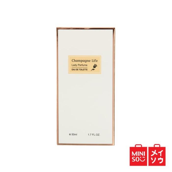 harga Miniso official champagne life lady perfume(03mn-0812) Tokopedia.com