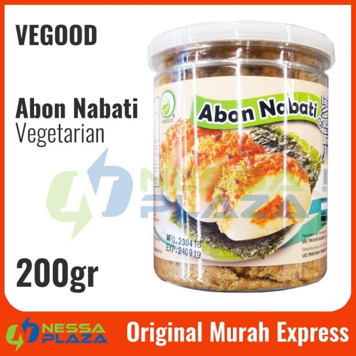 Abon Nabati Abon Vegetarian Vegood Terbuat dari Soya