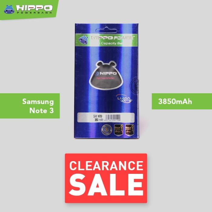 harga Hippo baterai samsung galaxy note 3 neo n750 ( 3850mah ) Tokopedia.com