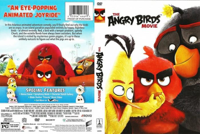 Jual The Angry Birds Movie 2016 Jakarta Barat M Collector Tokopedia