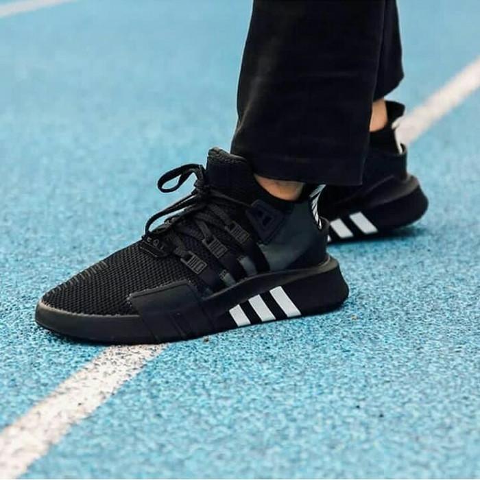 hot sale online a076e e12b2 Jual Adidas Eqt Bask Adv Triple Black - Hitam - DKI Jakarta -  Mysneakers_smr | Tokopedia