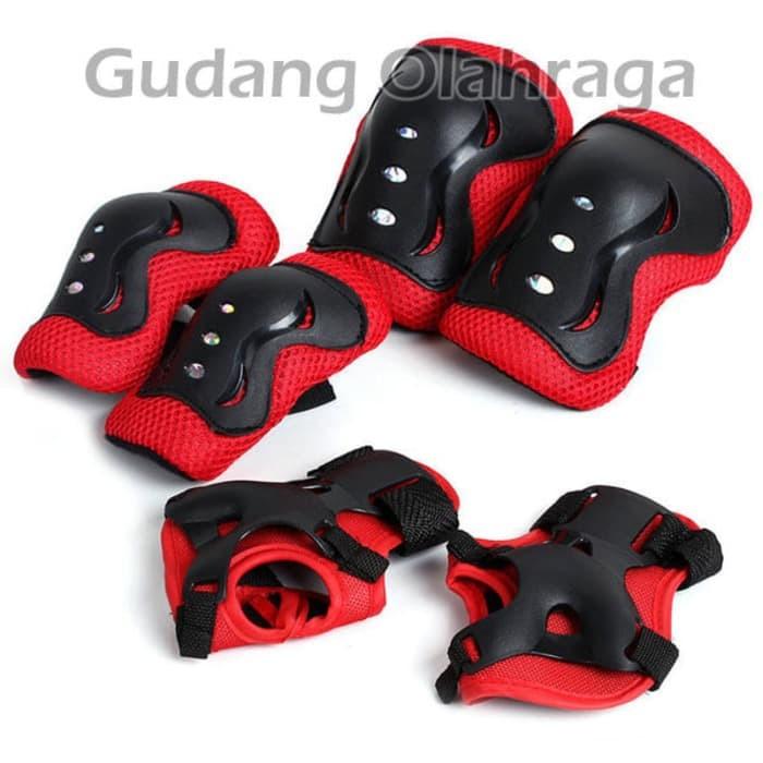 ... harga Deker inline skate   pelindung lutut sikut sepatu roda anak  Tokopedia.com d6dfcd7065