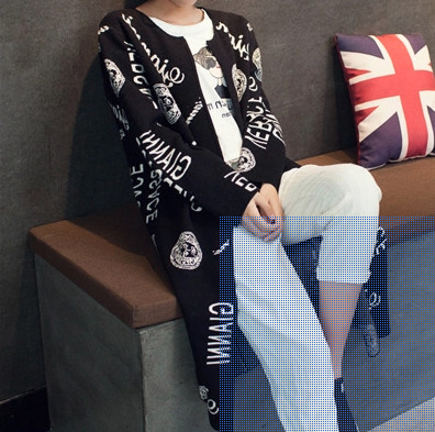 harga Jaket outer panjang cardigan rajut panjang coat  luaran model jepang Tokopedia.com