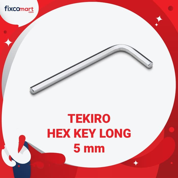 Tekiro Kunci L Panjang 5 mm / Hex Key Long