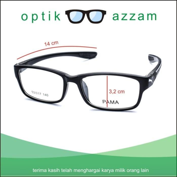 Jual Frame Kacamata Wanita Pria Minus Antiradiasi Pama Ganti Lensa ... d2ef91116a