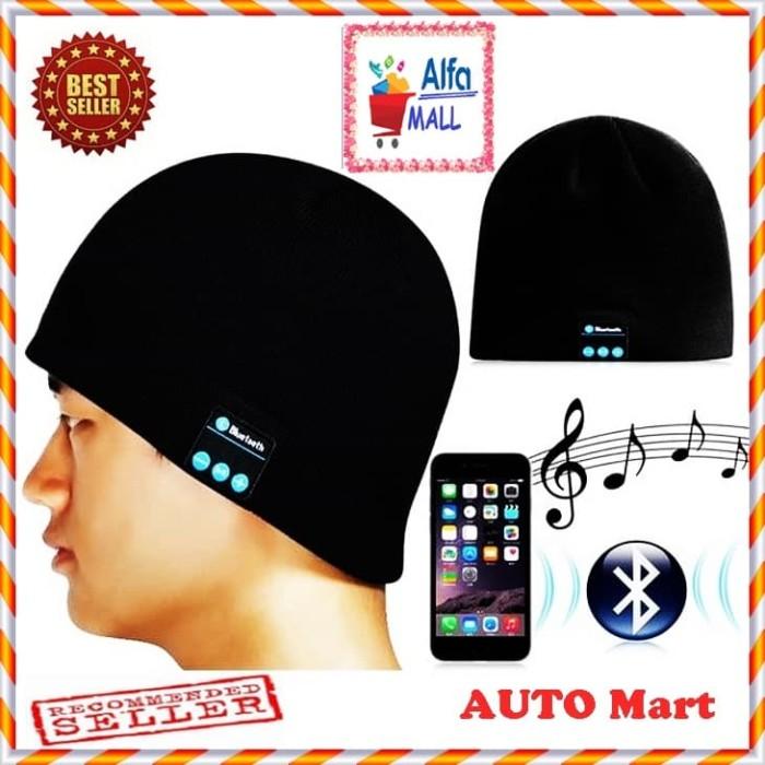harga Handsfree unik / topi earphone kupluk multifungsi helm bluetooth - xxj Tokopedia.com