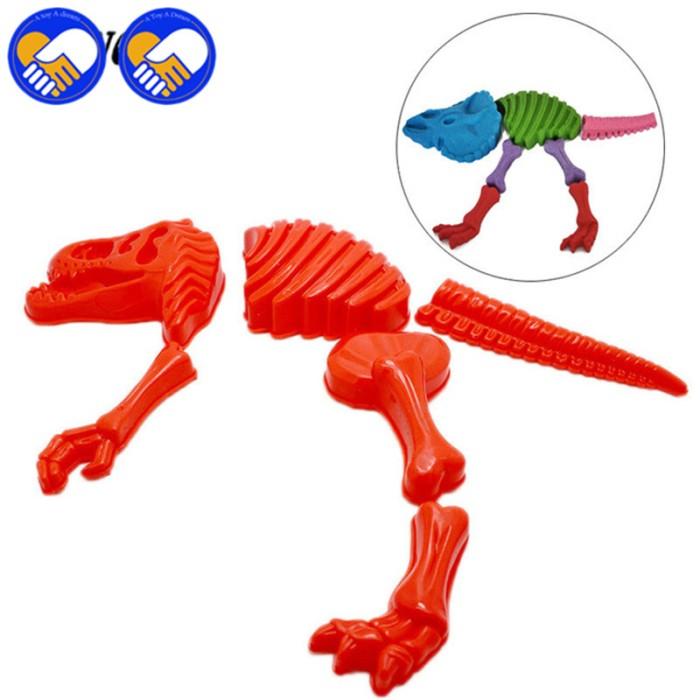 Jual NEW 2 Sets Sandbeach Funny Sand Mold Set Dinosaur Skeleton Bones -  Kota Bekasi - almira skincare | Tokopedia