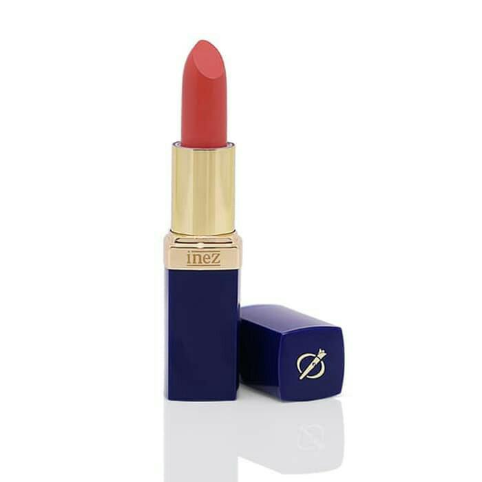 Inez Lipstik Color Contour Plus No.05 Sandy Coral Original