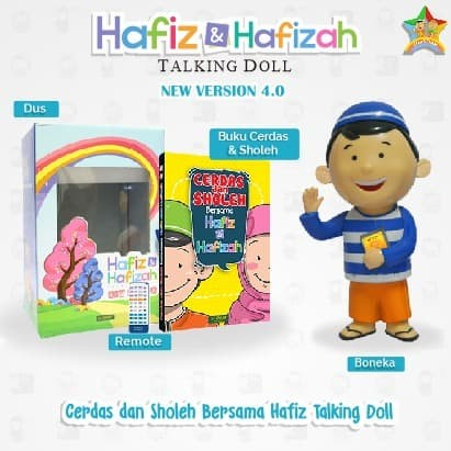 Jual Hafiz Talking Doll Boneka Hafiz Hafizah New Version 4.0 ... f3fbbb01c9