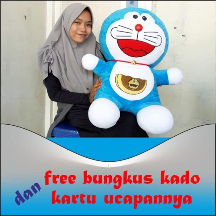 Jual Boneka Doraemon Dorayaki Besar Lucu Imut 65 Cm Sni Yelfo Lembut Murah Kota Surabaya Kado Boneka Jumbo Tokopedia