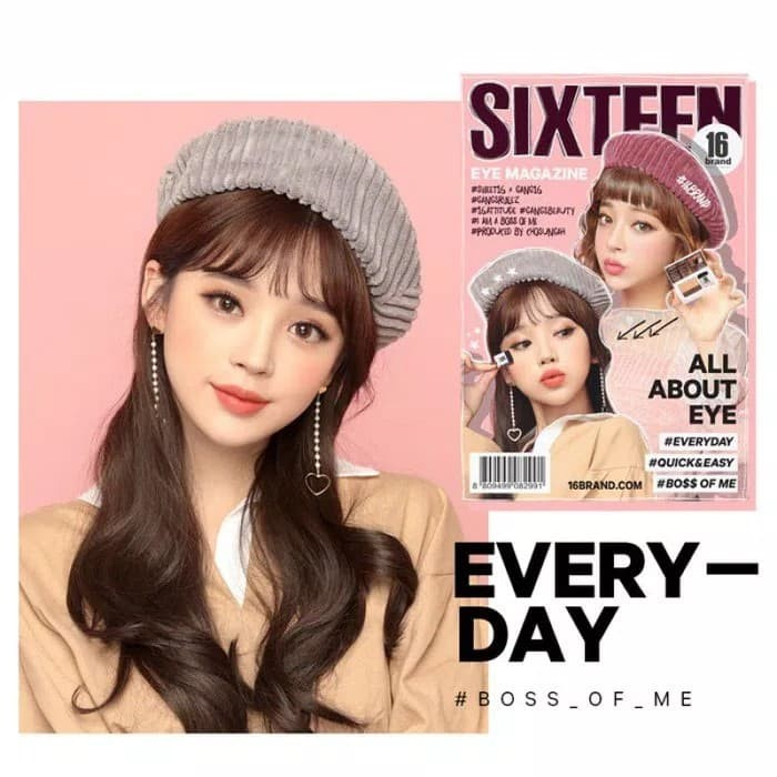 harga Eyeshadow magazine sixteen by 16 brand Tokopedia.com