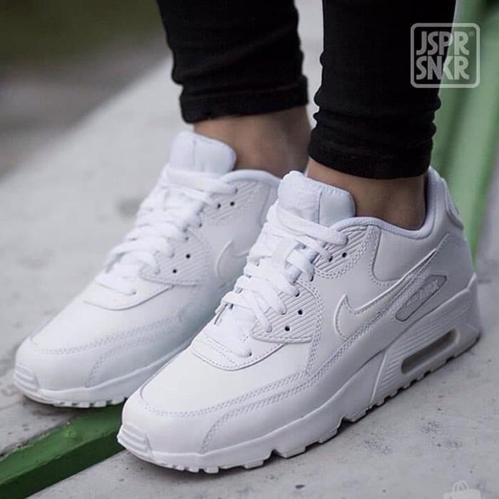 Jual Nike Air Max 90 Leather - White