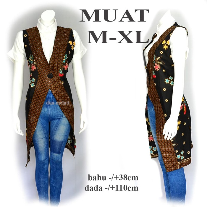Grosir Termurah M1m5 Tunik Batik Atasan Batik Wanita Outer Ca Terbaru I1s0 455c8aa603