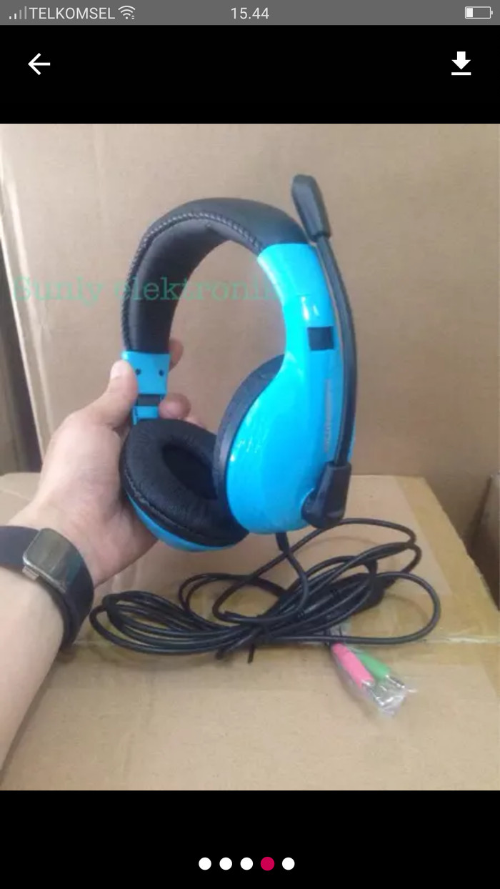 Jual Headset Gaming Rexus Sades Keenion Kos 1013 Pc Headphone