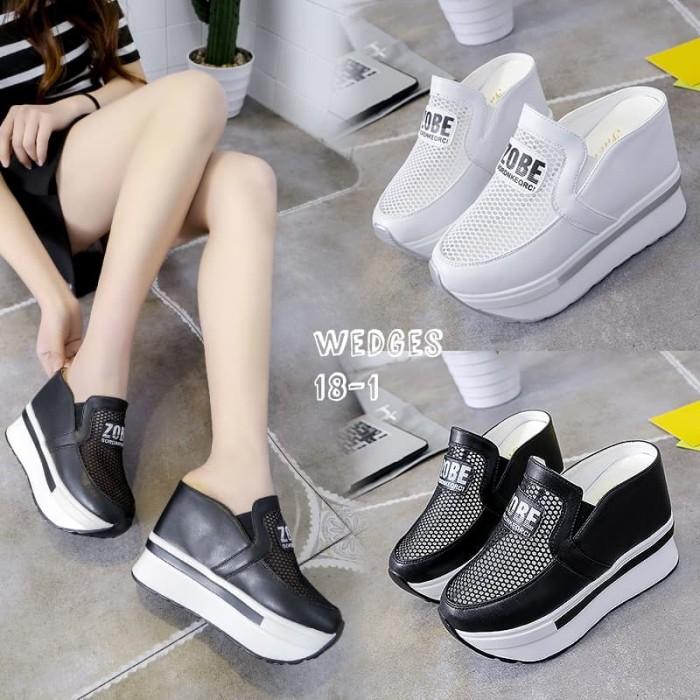 harga Wedges slop fashion korea #18-1 Tokopedia.com
