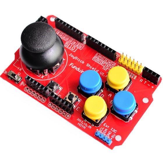 Foto Produk Joystick Shield Gamepad Analog Keyboard Mouse for arduino Simulated dari arduinouno