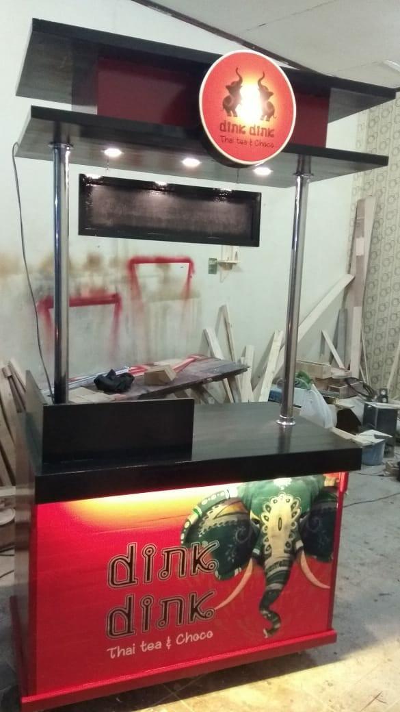 harga Booth thai tea / rombong duco /gerobak jati belanda duco Tokopedia.com