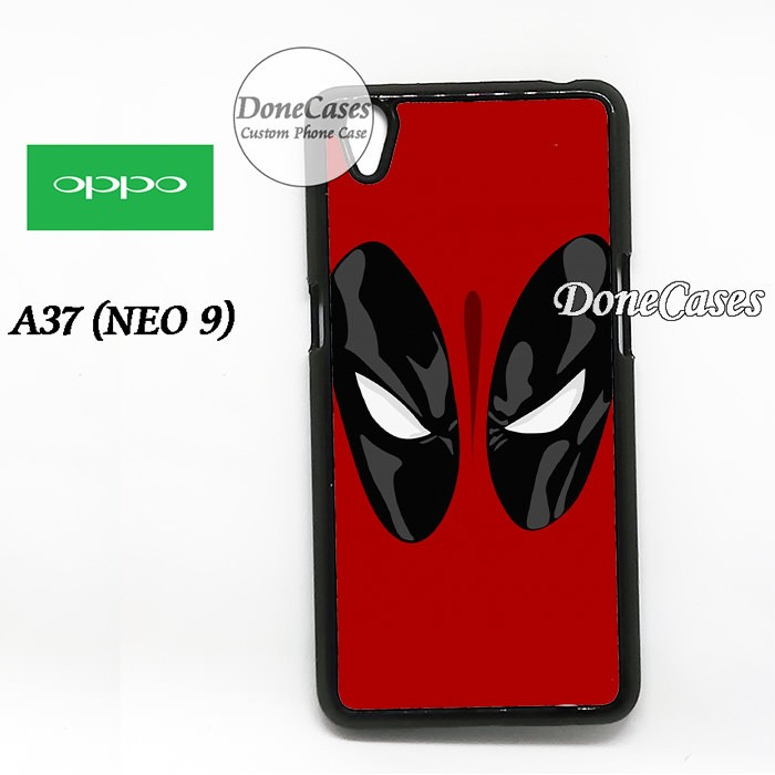 Casing OPPO A37 Cover Deadpool Hard Case Custom
