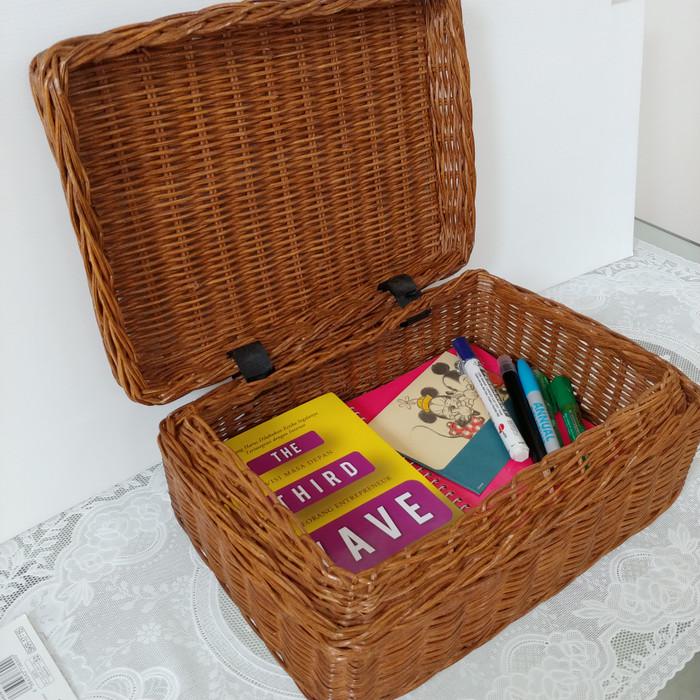harga Kotak rotan tutup serbaguna Tokopedia.com
