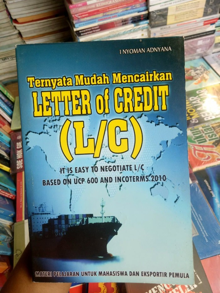 Letter Of Credit Book