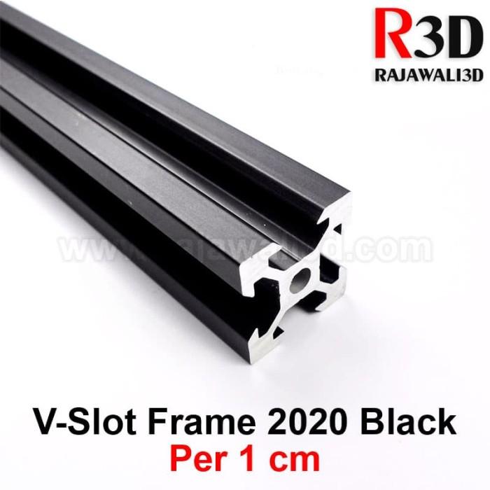Jual V Slot Aluminium Profile Extrusion Rail 2020 Black Ox Cnc Frame 1cm Kota Magelang Rajawali 3d Tokopedia