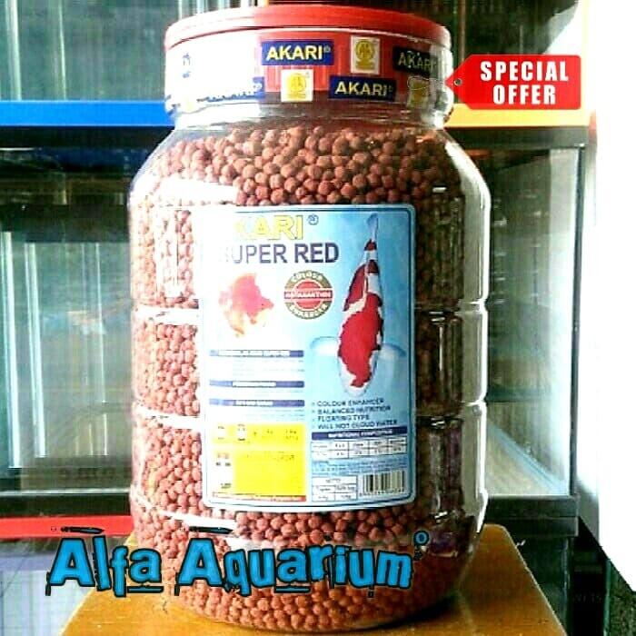 Jual Akari 4kg Super Red Makanan Ikan Lele Biar Cepat Besar Kolam