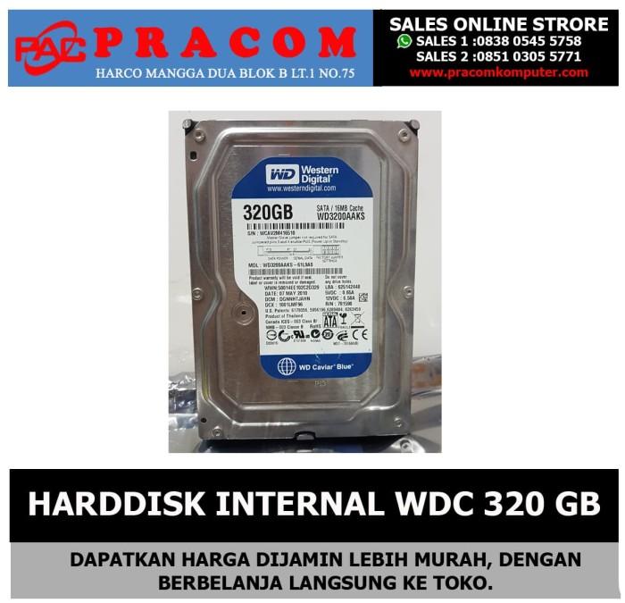 Foto Produk HARDDISK INTERNAL WDC 320GB dari Pracom Computer