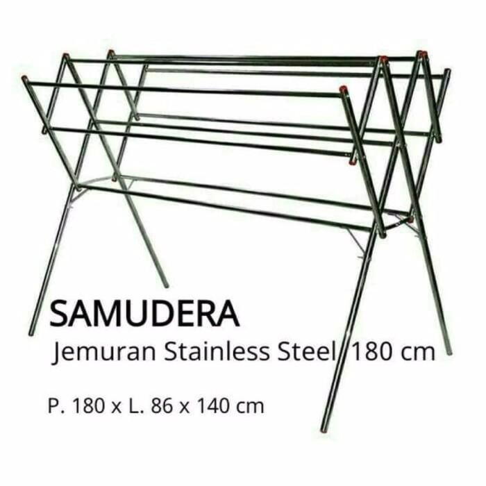 harga Baru jemuran baju jemuran pakaian stainless steel termurah harga pabr Tokopedia.com
