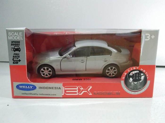 What Is Sedan Car >> Jual Diecast Car Sedan Nex Welly Bmw 330i Silver Grey New Mib Kota Semarang Nogo Shop Tokopedia