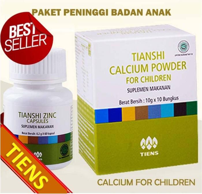 Obat Gemuk Herbal Tiens Penggemuk Badan Alami Terbaik NHCP Zinc
