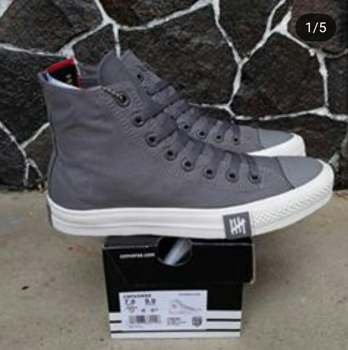 Jual Sepatu All Star Converse Chuck Taylor Petir Abu Tinggi High ... cc39d1a6d9