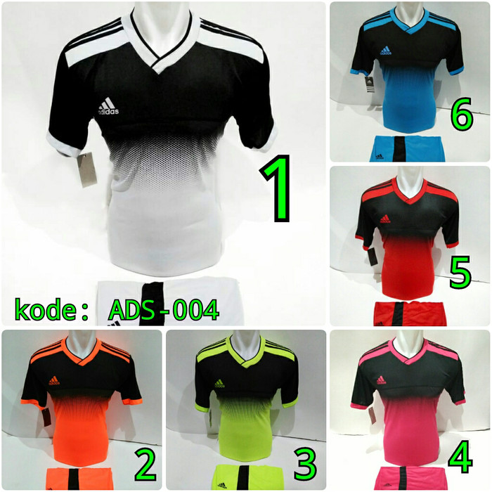 Jual Terlaris Ads 004 Jersey Bola Baju Futsal Adidas Gradasi Terbaru Kab Pati Garuda Sports Tokopedia