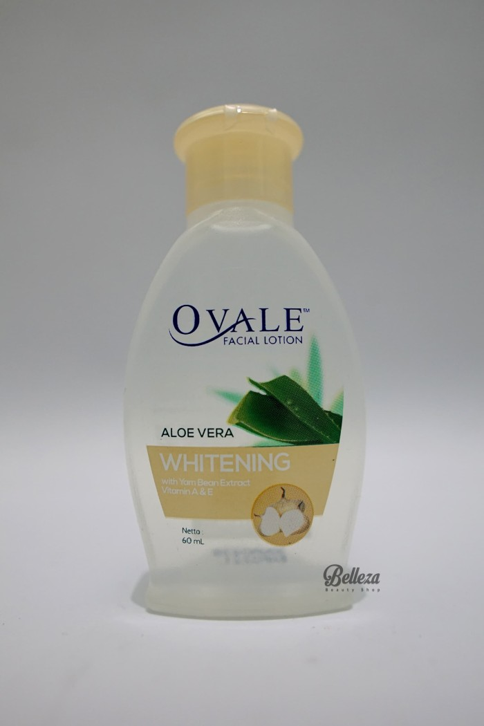 Ovale Facial Lotion Aloe Vera Whitening 100ml