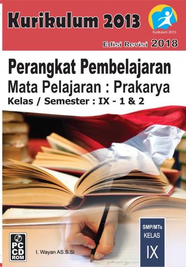 Foto Produk CD RPP Prakarya Kelas 9 Kurikulum 2013 Revisi 2018 dari ti Tasik Com