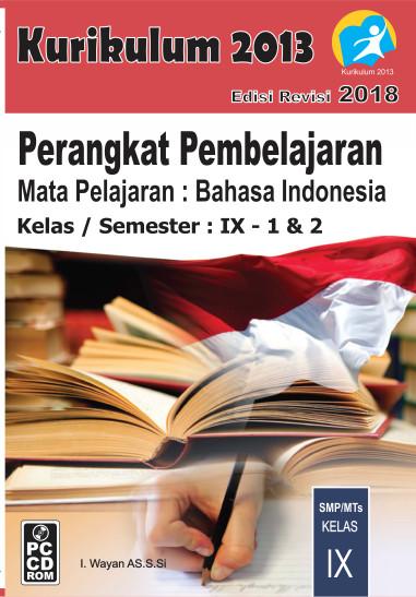Foto Produk CD RPP B Indonesia Kelas 9 Kurikulum 2013 Revisi 2018 dari ti Tasik Com