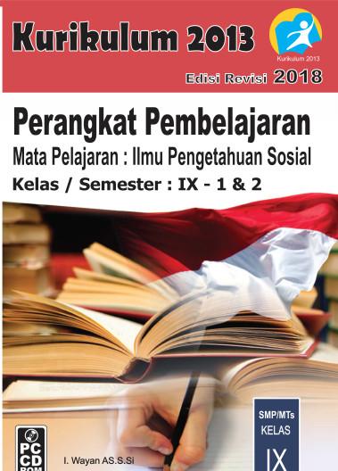 Foto Produk CD RPP IPS Kelas 9 Kurikulum 2013 Revisi 2018 dari ti Tasik Com