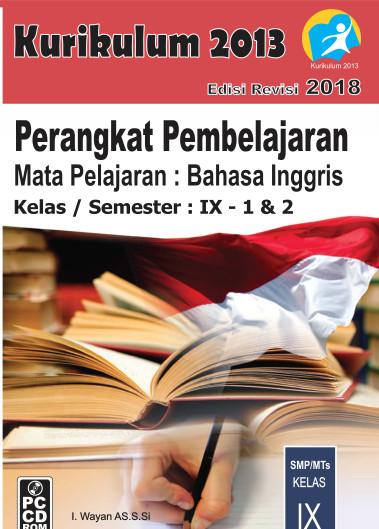 Foto Produk CD RPP Bahasa Inggris Kelas 9 Kurikulum 2013 Revisi 2018 dari ti Tasik Com