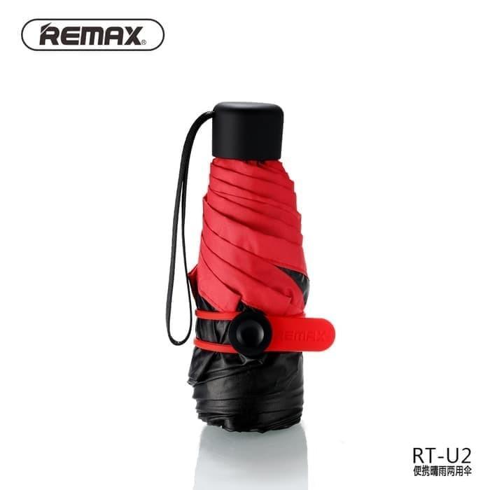 Remax Payung Lipat Mini Portable - RT-U2 - Green