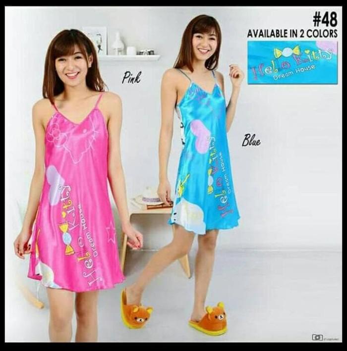 BAJU WANITA - NOSH DRESS HELLO KITTY KOREAN STYLE
