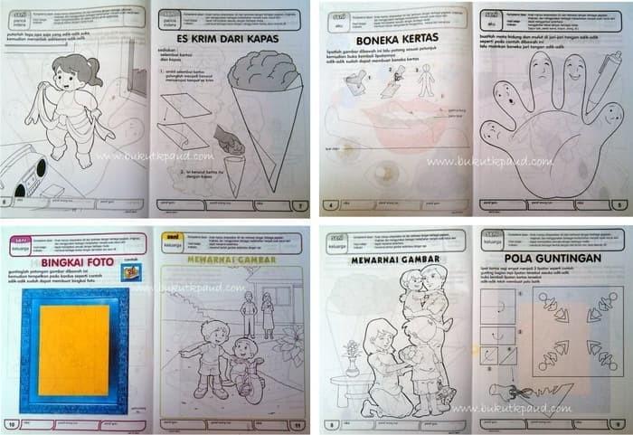 Jual Buku Buku Paket Paud Untuk Tk A Kembang Kuning Tokopedia