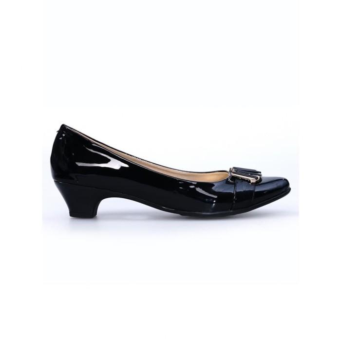 ghirardelli heels beatrix - black - hitam 37