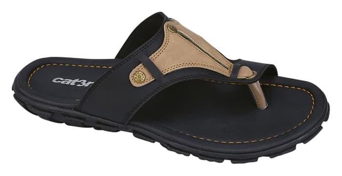 harga Sandal casual pria hitam catenzo aq 089 keren ori asli original murah Tokopedia.com