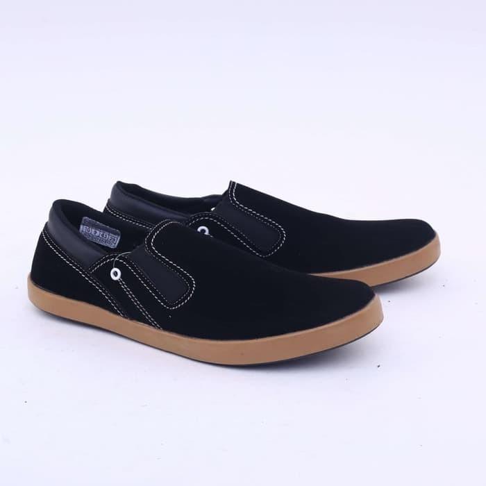 harga Garsel sepatu casual pria dewasa hitam gud 1614 Tokopedia.com