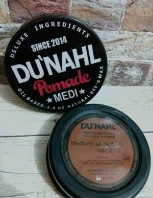 DUNAHL Pomade MEDI / Oilbased Pomade / FREE SISIR